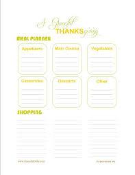 thanksgiving graceful order