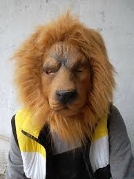 lion mask realistic lion mask mask party props buy