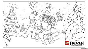 frozen nl group lego disney coloring pages printable