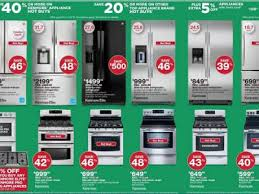 sears black friday hours sears goes heavy on major appliances in its black friday ad twice