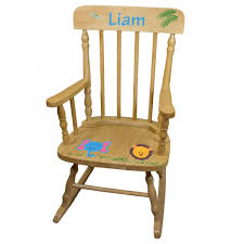 Ladybug Rocking Chair Hand Painted Personalized Child U0027s Rocking Chair