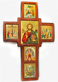 wooden wall crosses wooden wall cross with set of framed orthodox icons made in