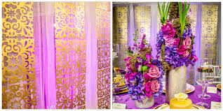wedding backdrop edmonton purple wedding with gold accents edmonton wedding