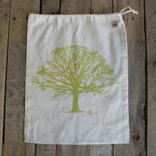 large organic cotton ditty bag tree willywaw