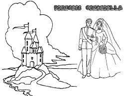 cinderella prince charming coloring pages night romance pic