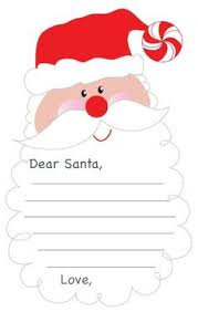 free printable writing paper to santa christmas paper free part 2 writing pinterest christmas paper