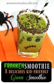 frankensmoothie a kid friendly green smoothie frankenstein