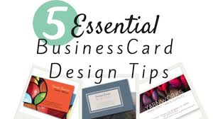 I Need Business Cards Today 5 Essential Business Card Design Tips Creative Income