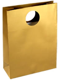 gold gift bags paper gift bags tote gift bags solid color matt tote