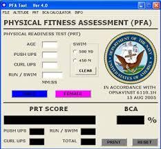 new prt standards new pfa page