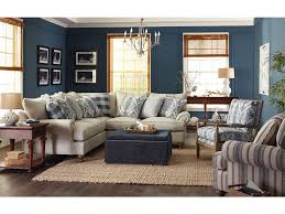 Paula Deen Living Room Furniture - paula deen by craftmaster living room sectional p7117bd sect