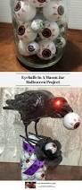 eyeballs in a mason jar halloween project experimental homesteader