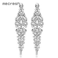 mecresh wedding earrings dangle earrings for bridal