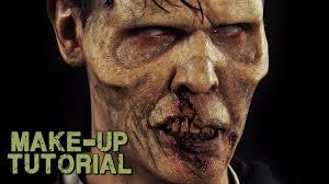 zombie halloween makeup kits zombie prosthetics u0026 makeup kit how to video world war z style