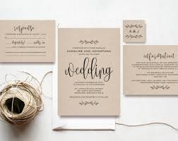 cheap wedding invitation sets affordable wedding invitation sets to bring your wedding