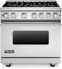 Jenn Air 36 Gas Cooktop Viking Vgr73616bss 36 Inch Gas Range With 6 Sealed Burners 5 1 Cu