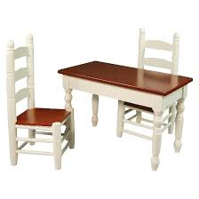 Target Kitchen Table And Chairs The Queen U0027s Treasures 18 Inch Doll Furniture Off White Wooden