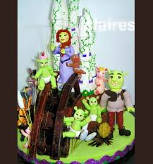 11 best shrek cakes images on pinterest shrek cake cake designs
