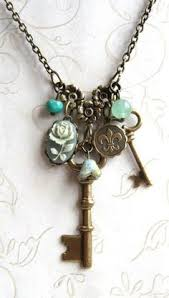 key necklace charms images 112 best vintage key jewelry images in 2018 old jpg
