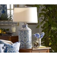 Pierre Deux Rugs Pierre Deux French Country Fabric Blue Lamp Blue French