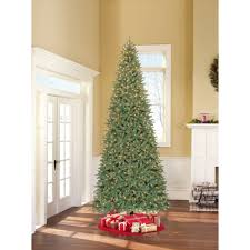 9 foot christmas tree time artificial christmas trees pre lit 7 5 flocked