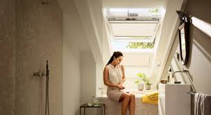 Spots Im Badezimmer Dachausbau Ideen Für Badezimmer Velux Dachfenster