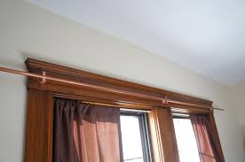 Copper Curtain Rods 18 Master Bedroom Details