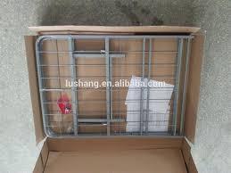 highrise folding metal bed frame 14