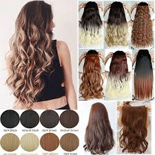 one hair extensions 5 ombre clip in hair extensions synthetic hair wefts