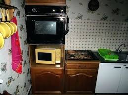 meuble cuisine pour plaque de cuisson et four meuble de cuisine pour four encastrable simple ikea meuble cuisine