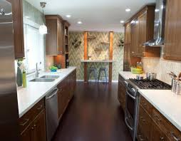 Galley Kitchen Renovation Entertain Photograph Decor Wood Kitchens Graceful Decor For Girls