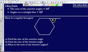 Interior Angles Calculator Interior And Exterior Angles Of Regular Polygons Gcse Edexcel