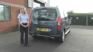 peugeot motability wheelchair accessible citroen berlingo youtube