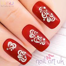 abstract adhesive nail stickers nail art uk