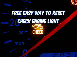 how to fix check engine light how to reset check engine light free easy way revised youtube