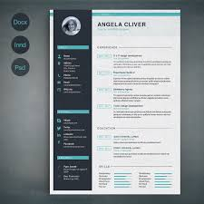 Resume Indesign Template Resume Template A Templates Resume Templates And Resume