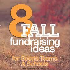 fall fundraiser ideas