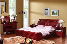 solid wooden bedroom furniture amazing red solid wood bedroom furniture sets for modern bedroom