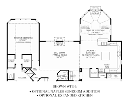 Sunroom Floor Plans by Toll Brothers At Oak Creek The Hampton Home Design
