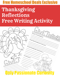 free thanksgiving writing pack instant free