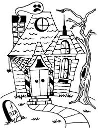printable halloween coloring coloring pages kids