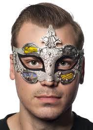 baroque venetian black masquerade mask