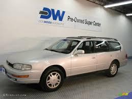 1992 silvermist metallic toyota camry le v6 wagon 27850920 photo
