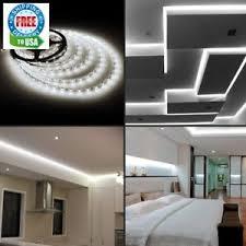 led daylight strip light new le 16 4ft 12v flexible led strip lights 6000k daylight