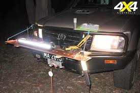 jeep light bar at night led light bars comparison 4x4 australia