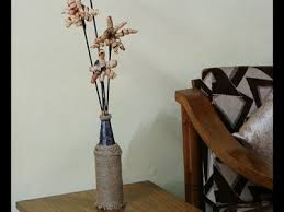 Best Out Of Waste Flower Vase Diy Earring Holder N Bangle Box By Wastage Best Out Of Waste