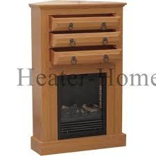 Oak Corner Fireplace by Fp09 24 09 Oak Stonegate Corner Electric Fireplace With Dual Heat