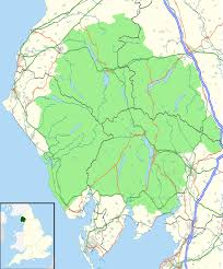 Map Of The Northwest Lake District Wikipedia