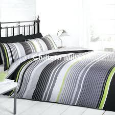 Duvet Sets Twin Duvet Covers Gray Stripe Duvet Cover King Stripe Single Duvet