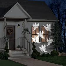 halloween house lights to music ghosts whirl a motion projection light walmart com
